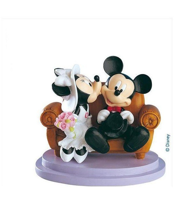 Novios Mickey y Minnie Mouse